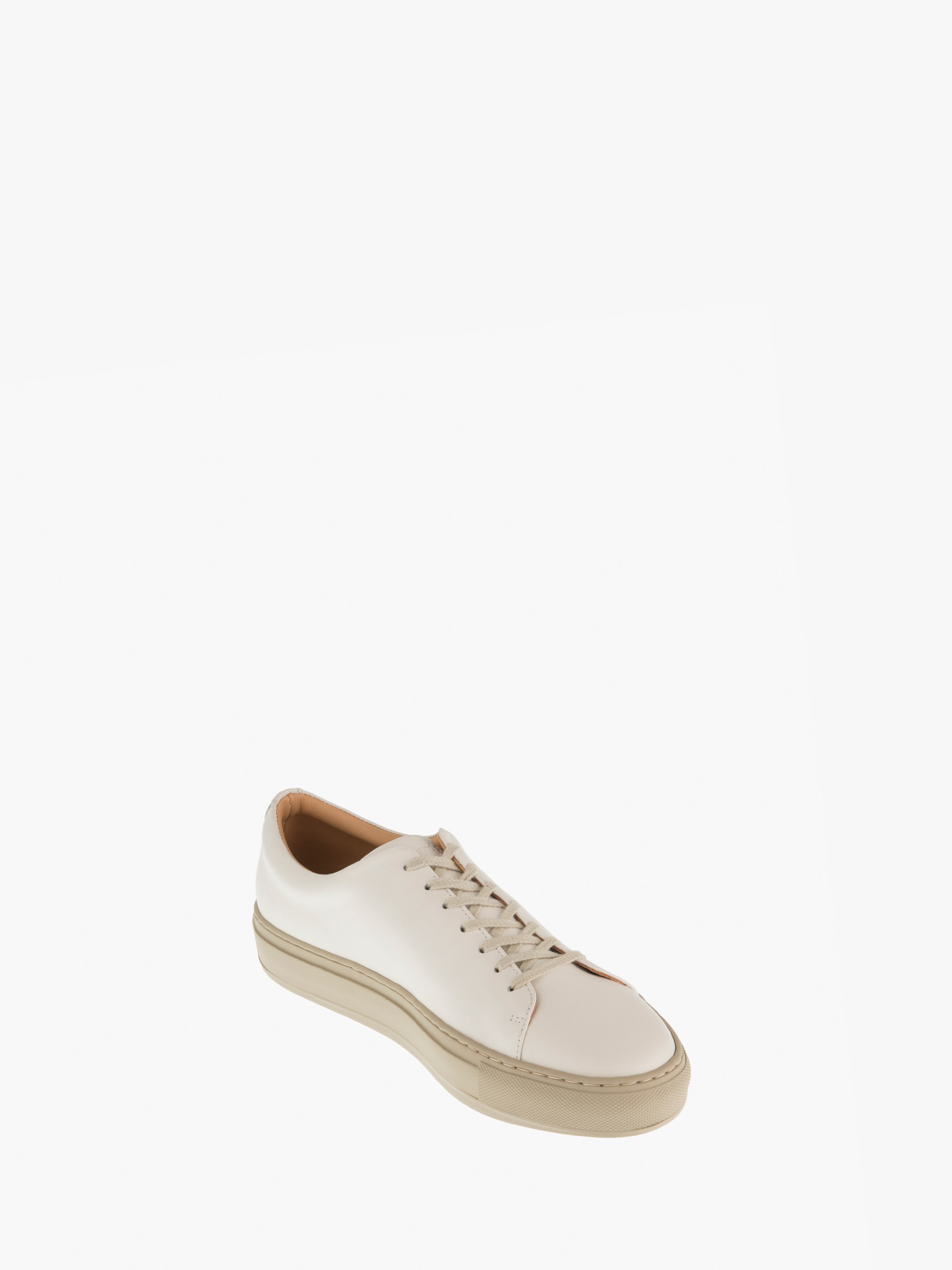 blucher 05 leather osso off-white