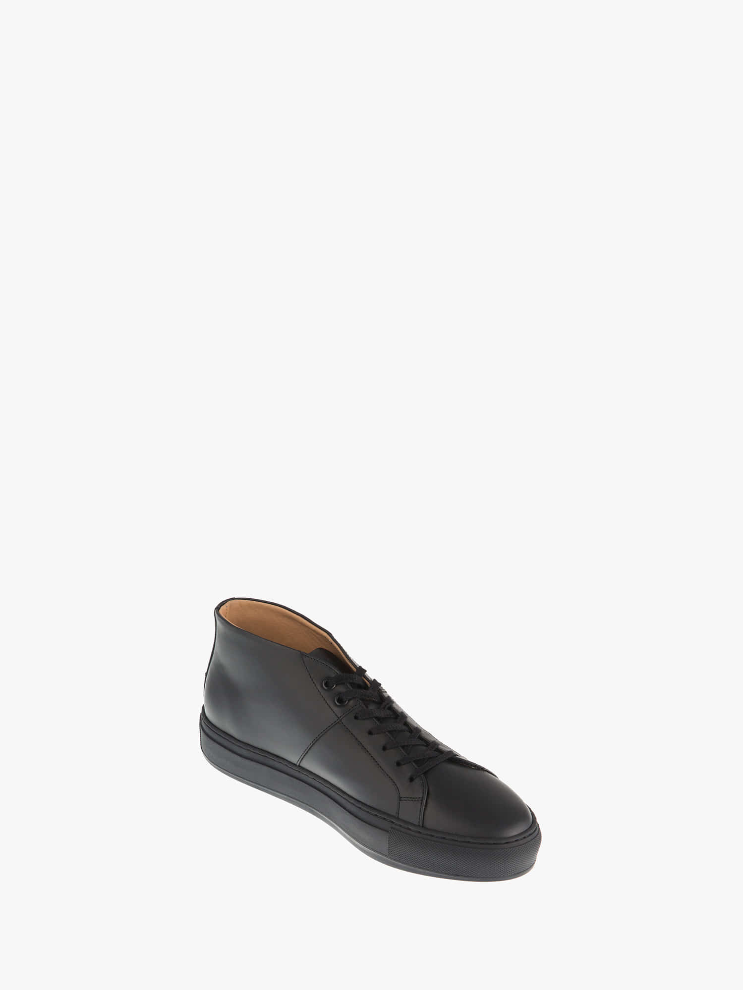 blucher 02 leather plaster black