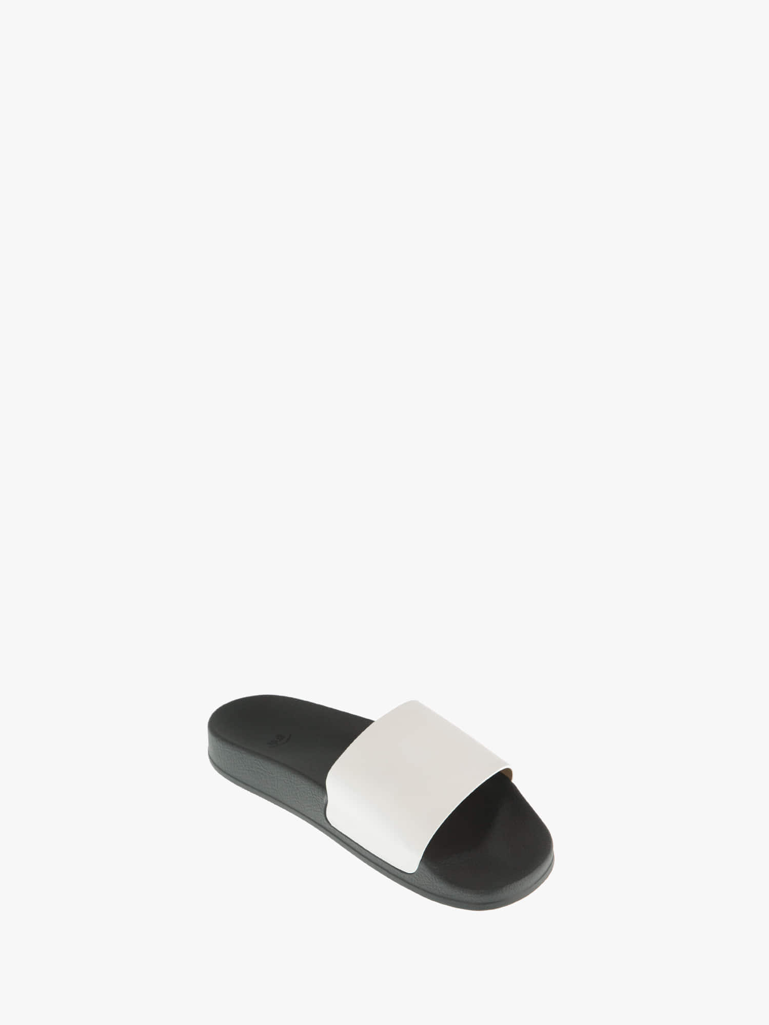slides 01 leather off-white