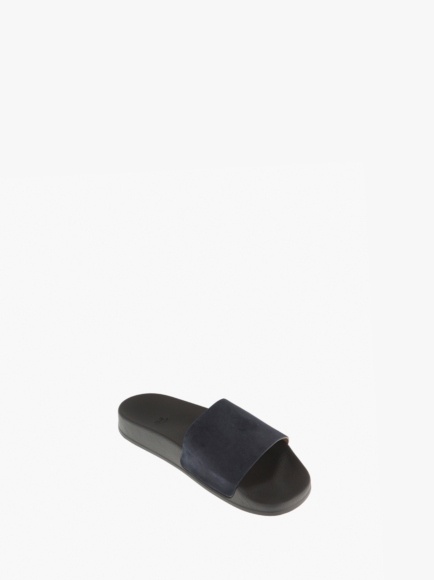 slides 01 suede navy