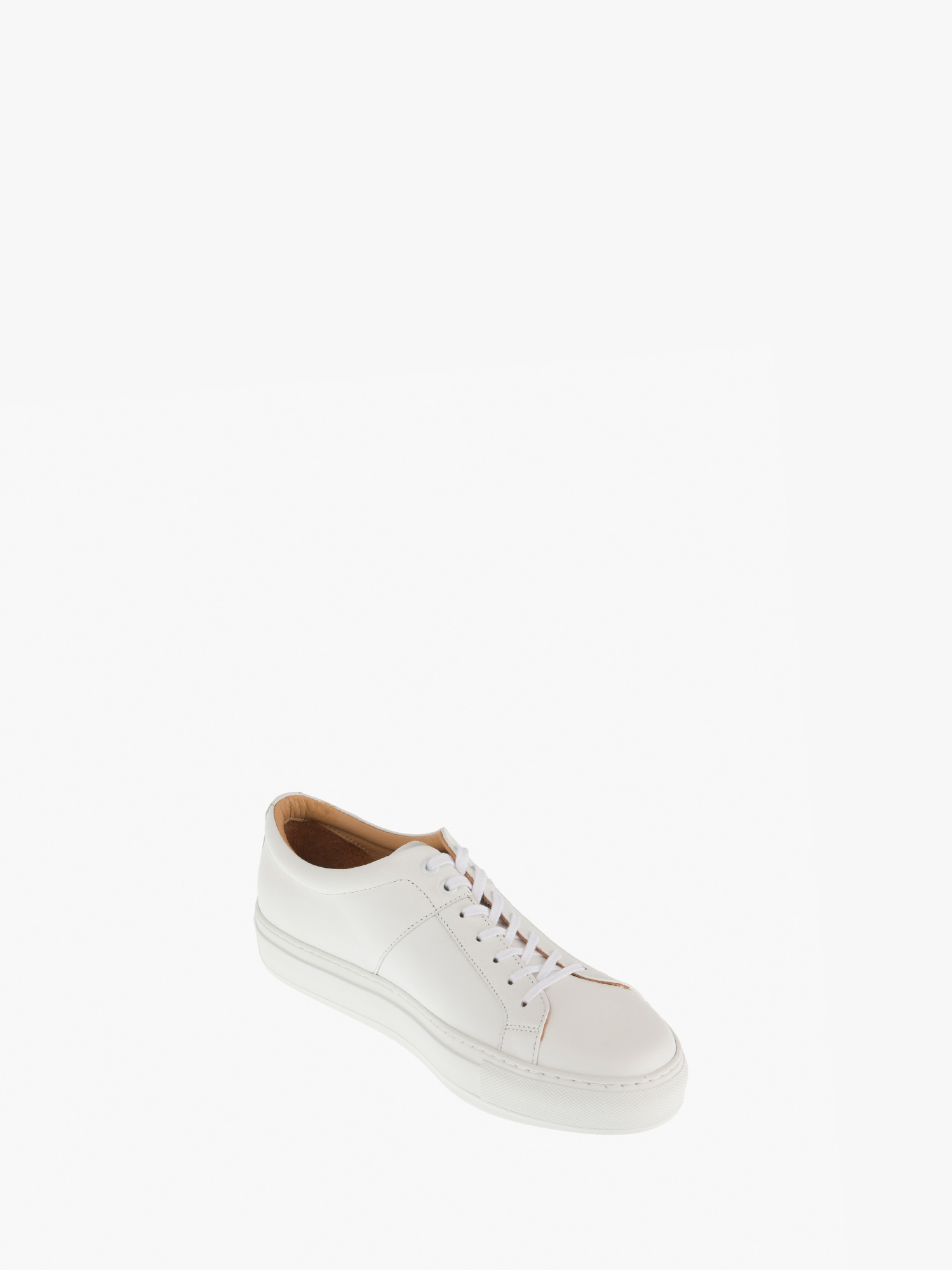 blucher 01 leather white