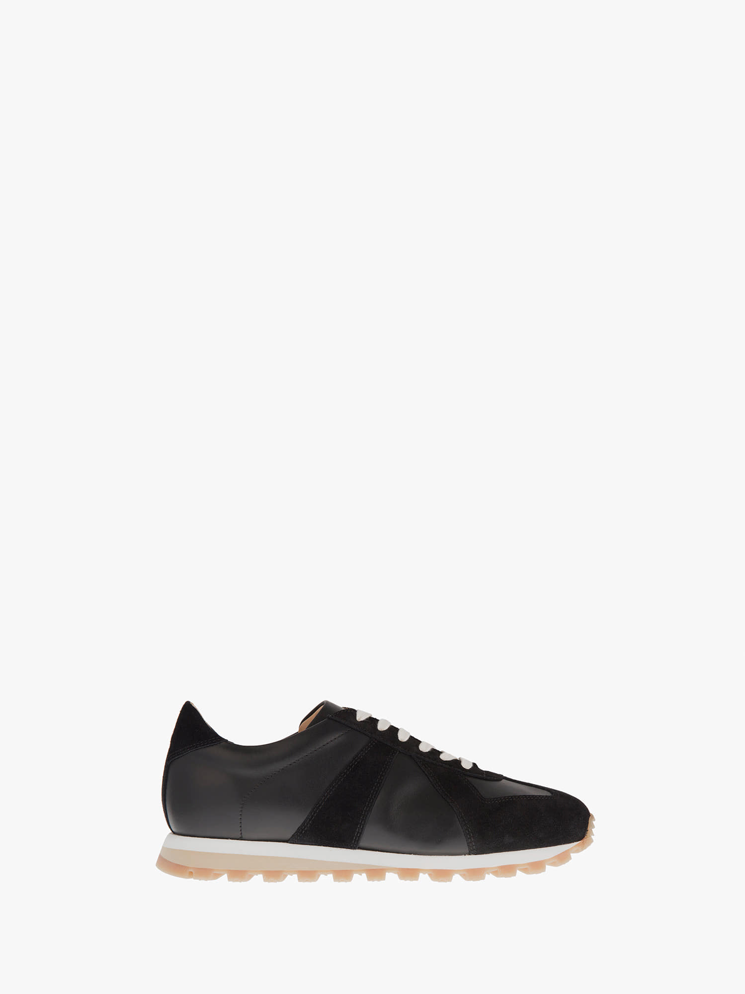 balmoral 07 suede leather black