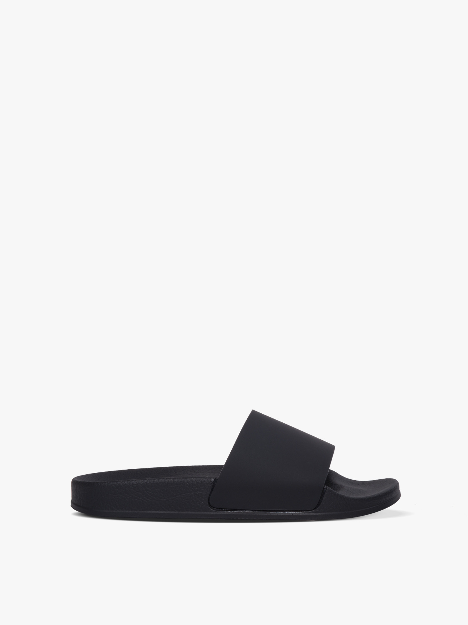 slides 01 rubber black