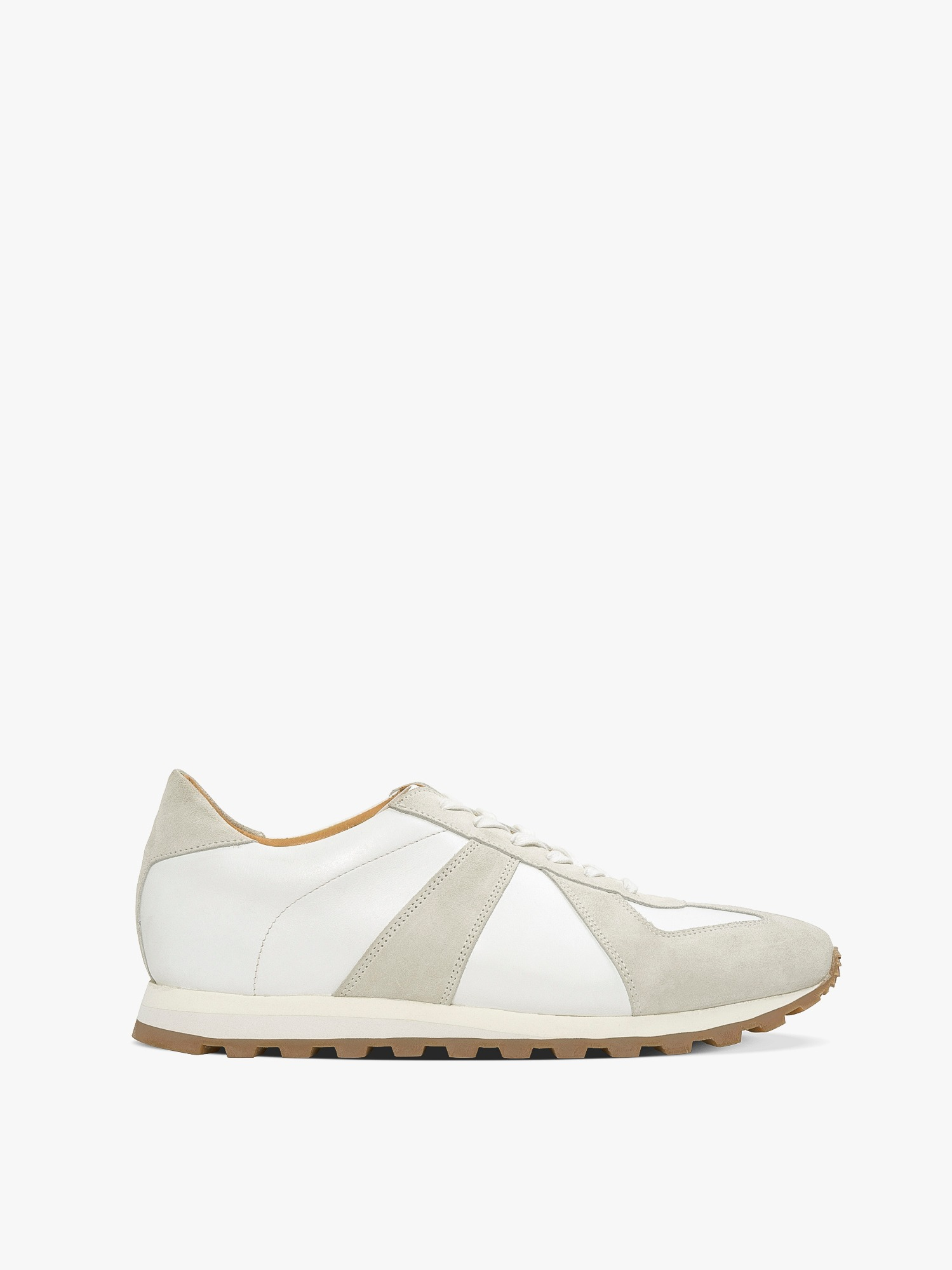 balmoral 07 suede/leather bone white