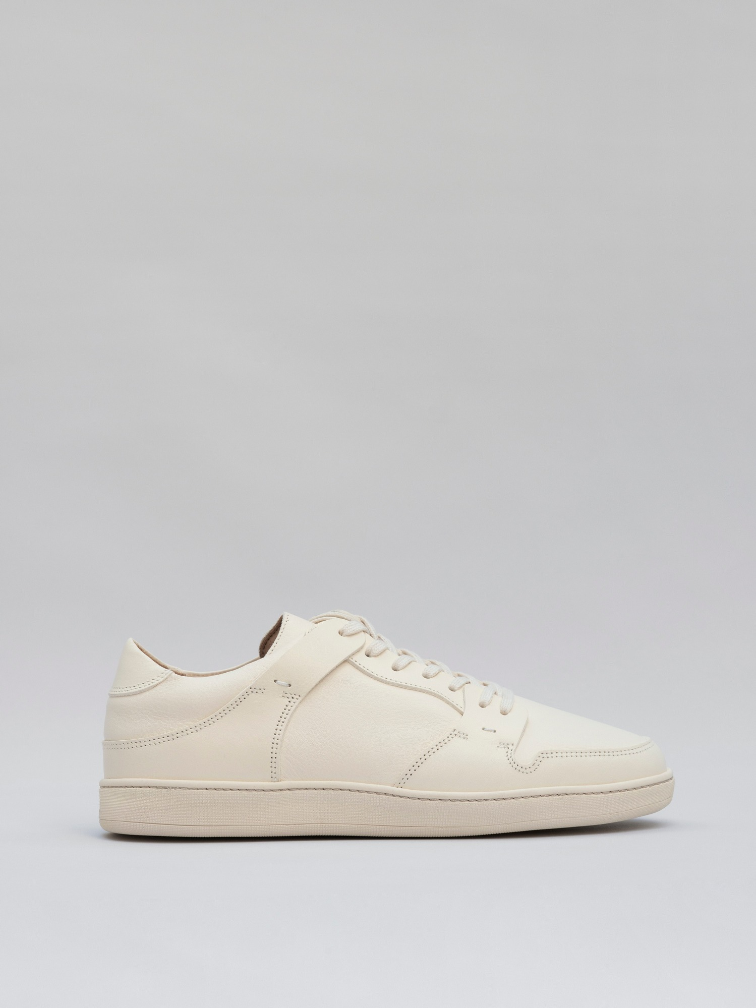blucher 09 leather panna white_