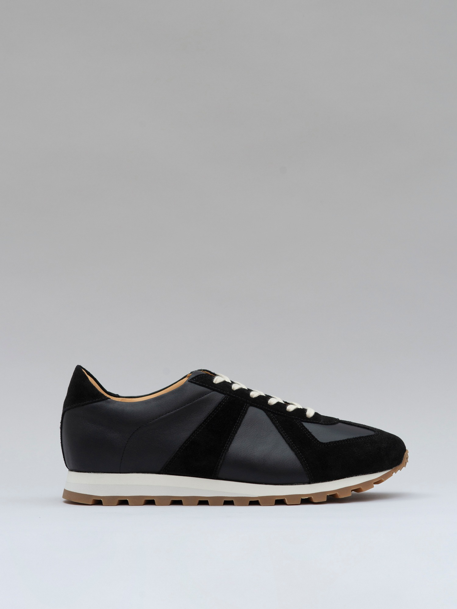 balmoral 07 suede/leather black
