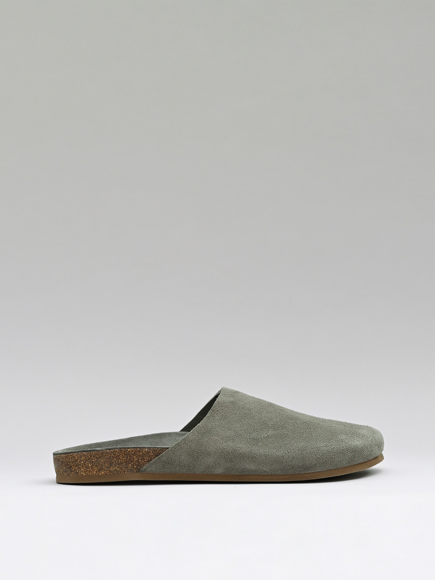 slides 03 suede earth grey