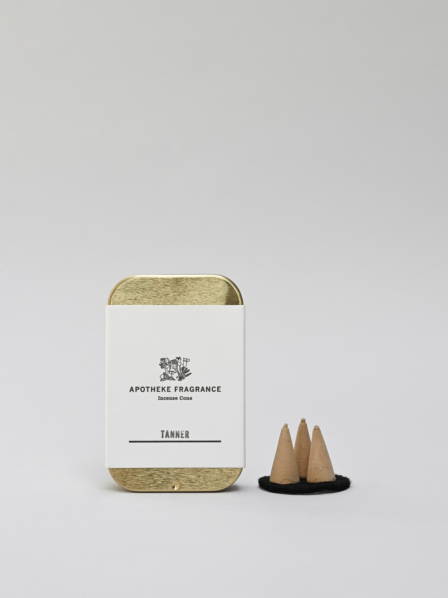 apotheke fragrance incense cone(tanner)